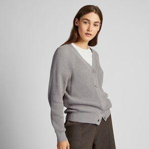 Uniqlo   Cotton Cashmere Relaxed Cardigan